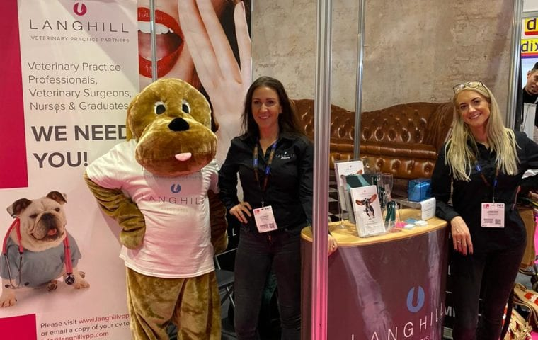 Langhill VPP Attends London Vet Show 2019